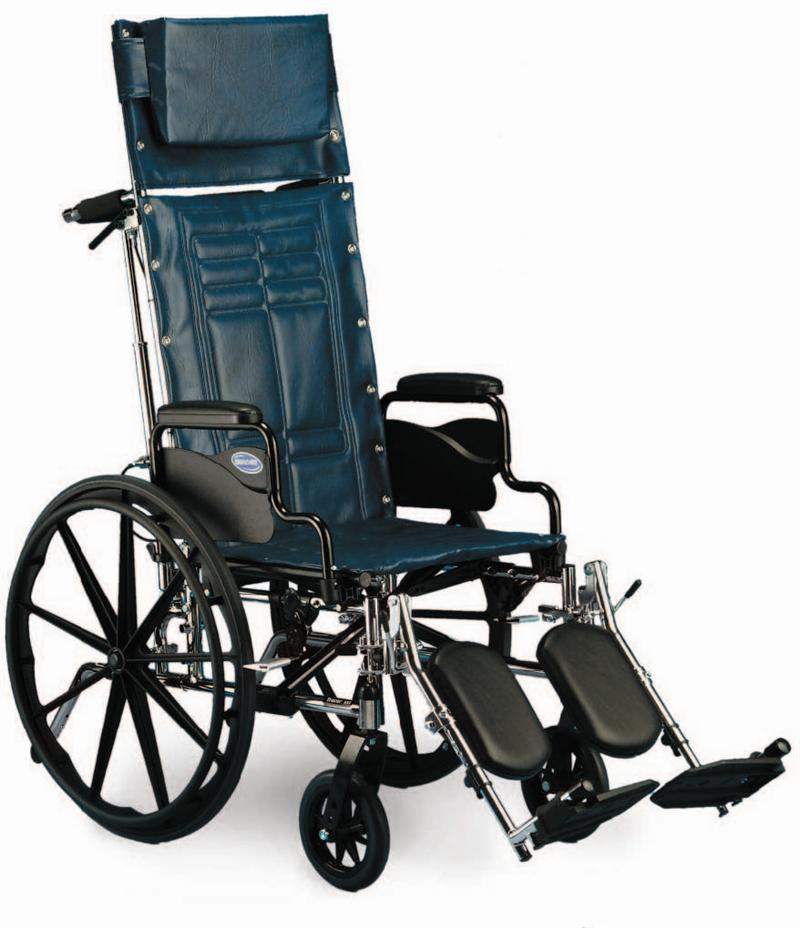 Rental Wheelchair Reclining 18 Quot With Leg Rest